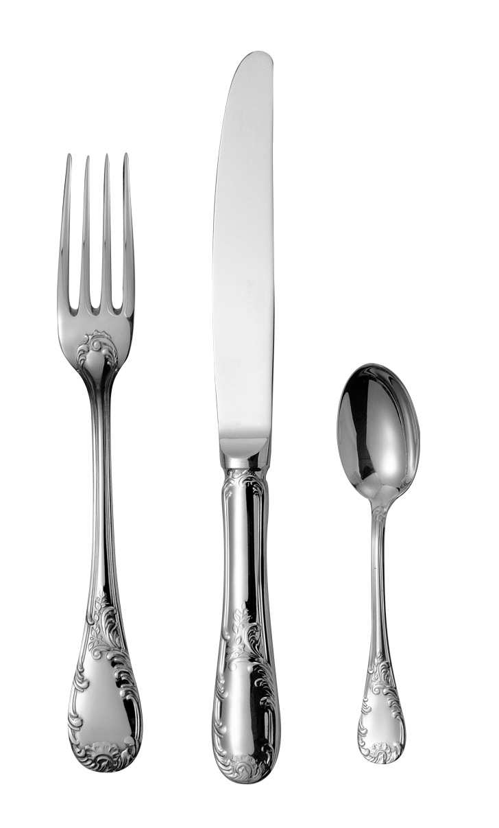 stainless steel 18-10 flatware Louvre
